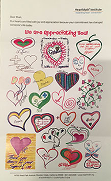 HeartMath Institute Letter